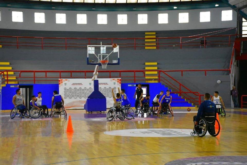 Básquet sobre silla de ruedas: la preselección se concentró en San Luis