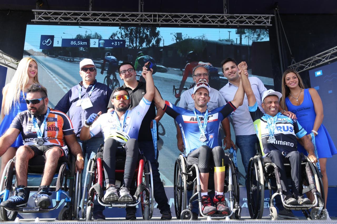 Todos los ganadores de la tercera edición de la Vuelta Inclusiva a San Juan