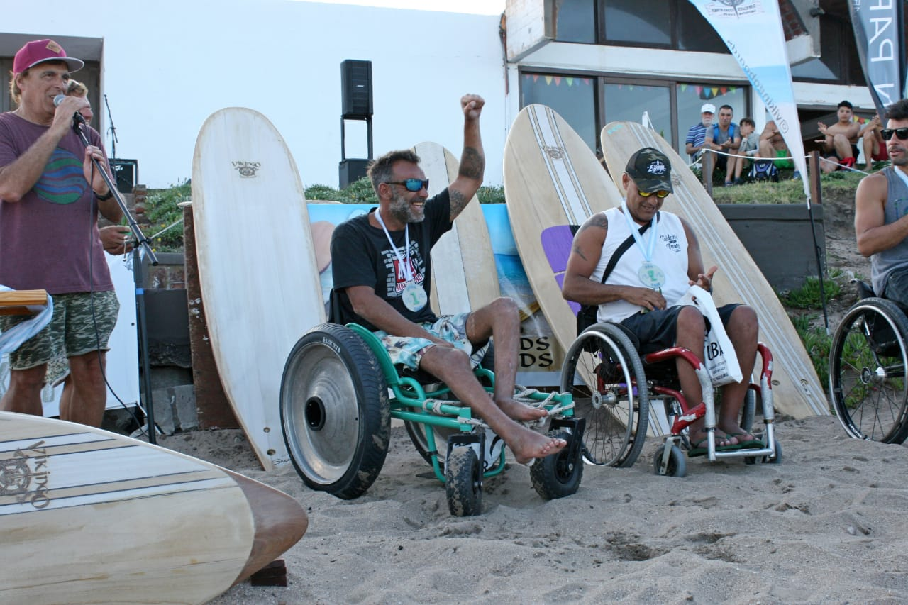 Surf adaptado: se disputó la tercera jornada del Campeonato Nacional en Miramar