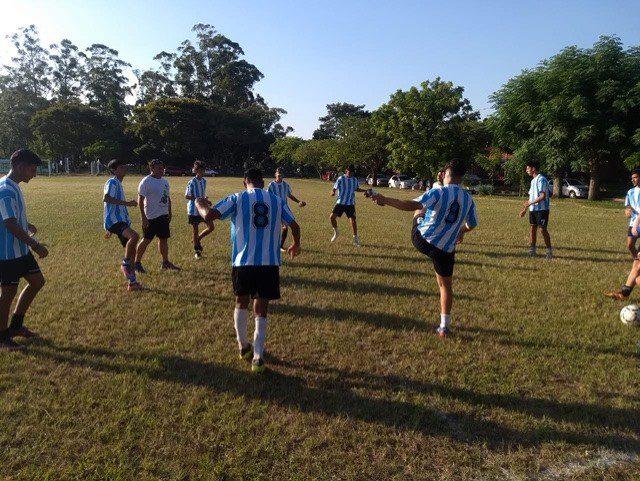 Corrientes vibró con el combinado nacional de fútbol 7