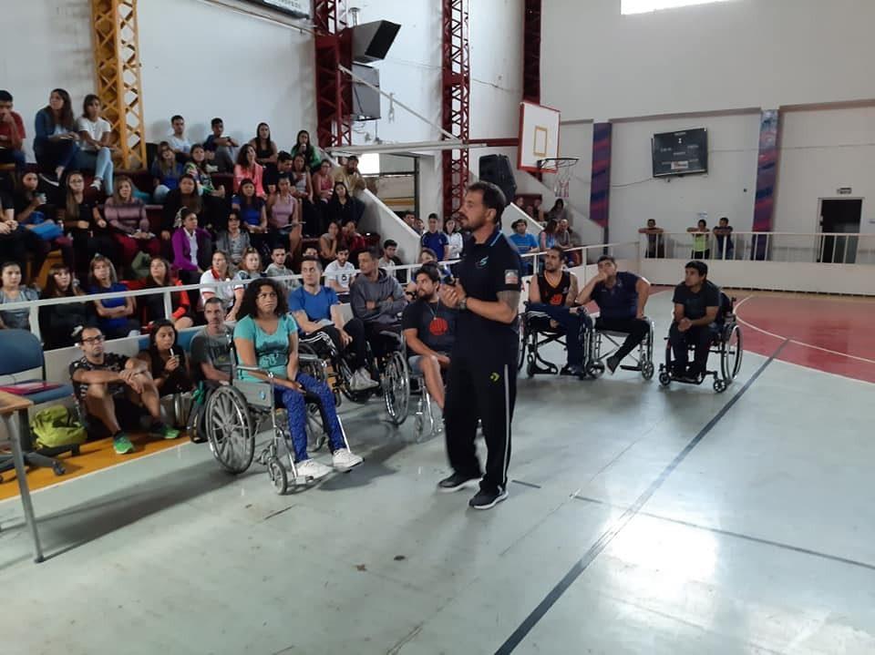 Básquet sobre silla de ruedas: San Luis, sede de la segunda capacitación de año