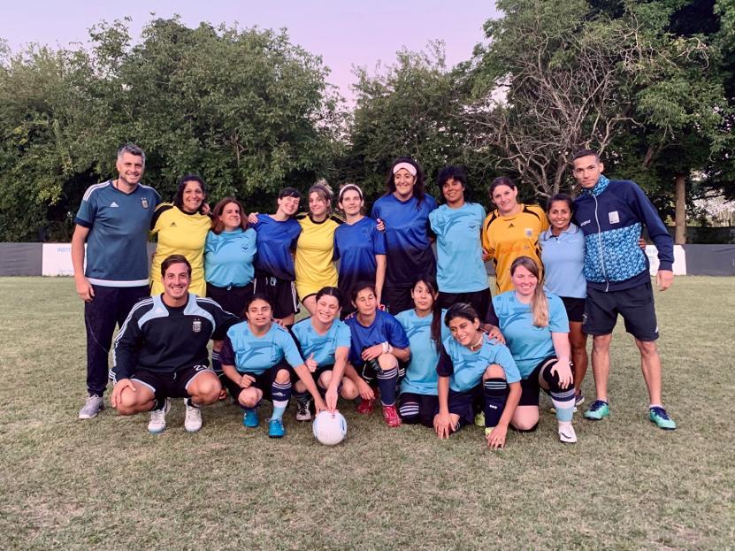 Fútbol para ciegas: la Selección Argentina sueña con el Mundial de Nigeria