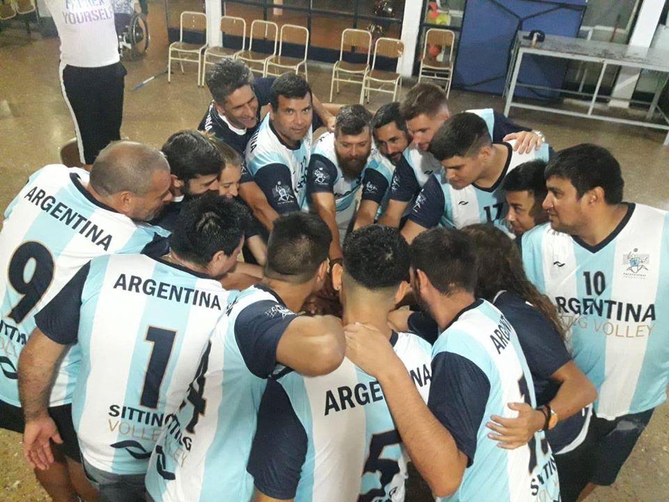 Paravóley: primera concentración de la selección argentina