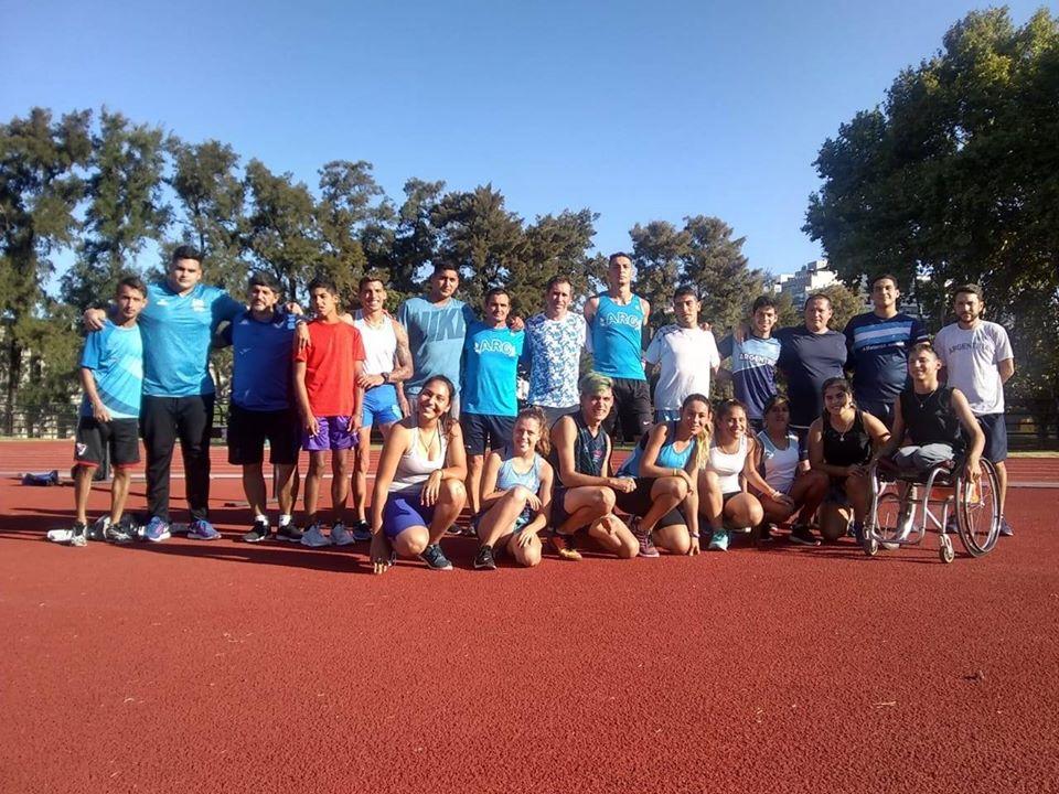 Atletismo: la Selección Argentina se concentró en el CENARD