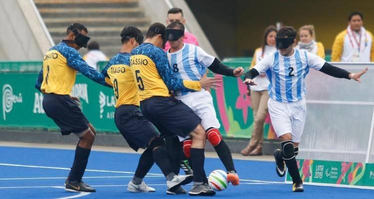 Fútbol para ciegos: el plan de Los Murciélagos durante la cuarentena