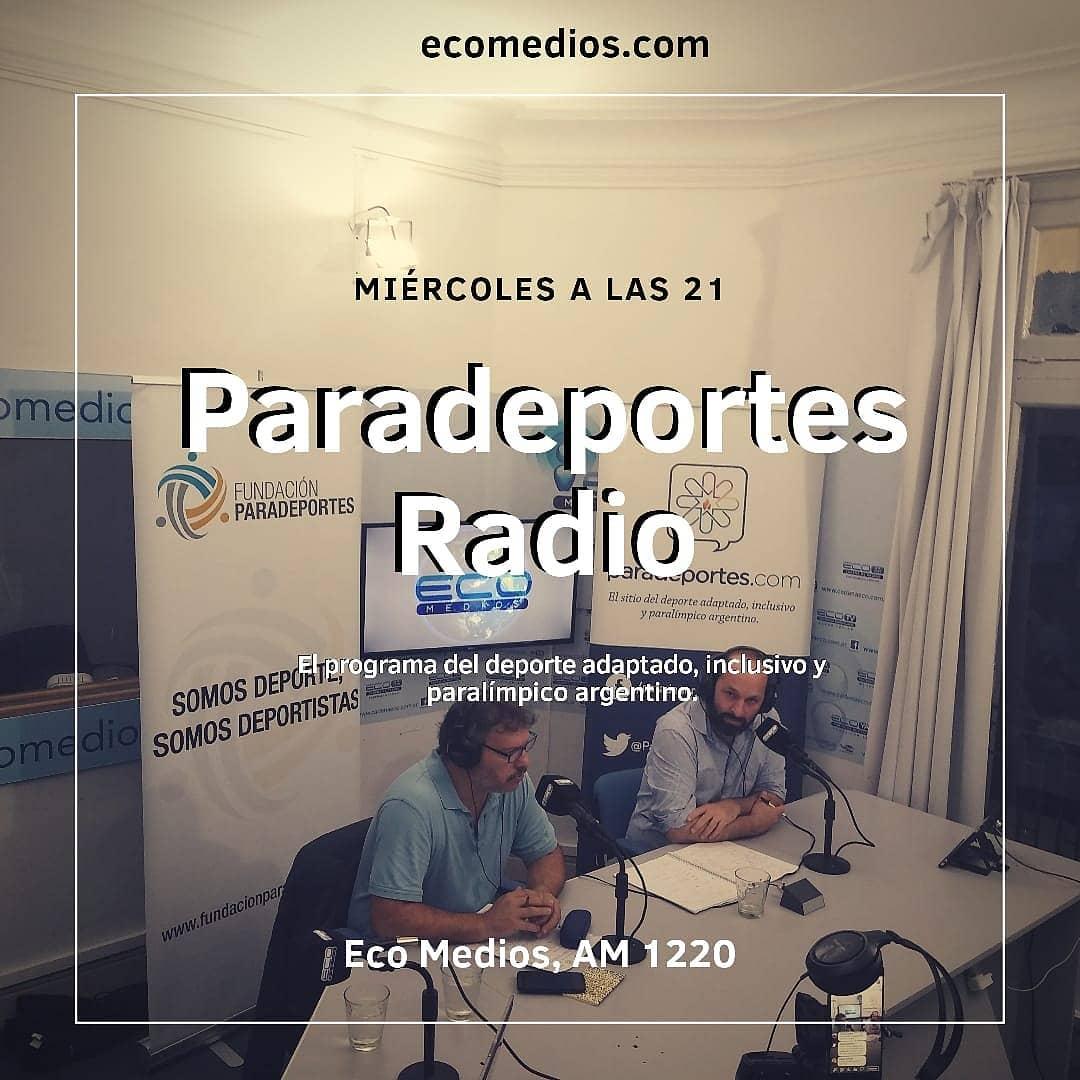 Comienza la quinta temporada de #ParadeportesRadio, el programa del deporte adaptado, inclusivo y paralímpico argentino