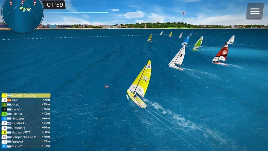 Vela paralímpica: regatas virtuales para amenizar la cuarentena