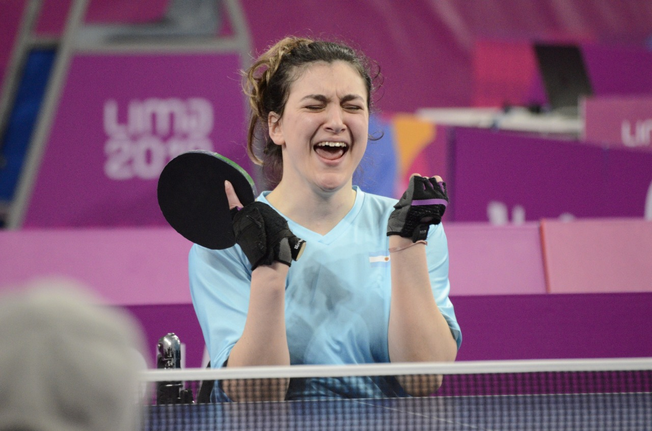 Tenis de mesa adaptado: Constanza Garrone se clasificó a Tokio 2021