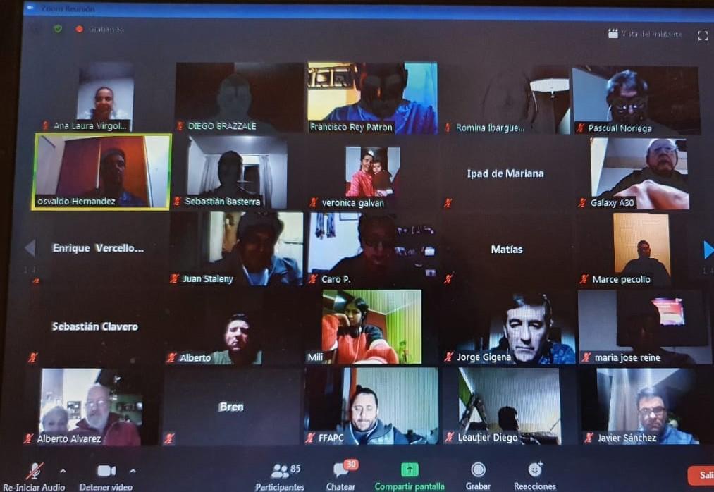 Fútbol 7 PC: capacitaciones virtuales en todo el país