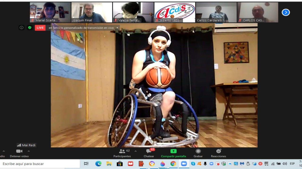 Ciclo número 16: entrenamiento y rendimiento según la clasificación funcional en la Selección Femenina de básquet sobre silla de ruedas