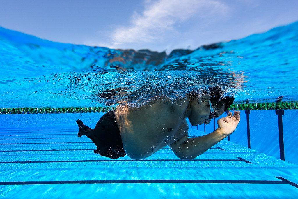 Maximiliano Matto, la historia del nadador de la Selección paralímpica que estudia abogacía para defender los derechos de las personas con discapacidad