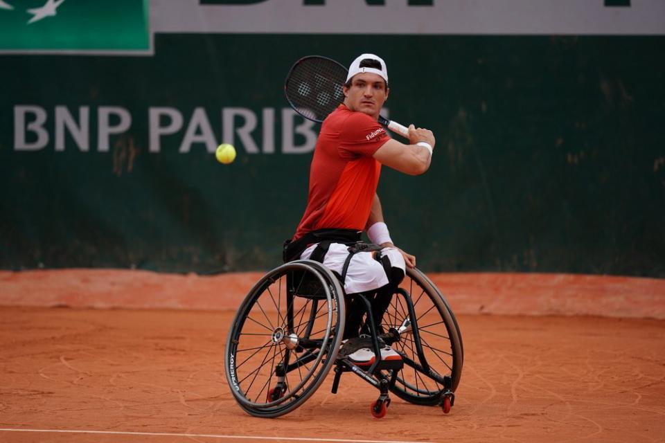 Tenis adaptado: Gustavo Fenández, semifinalista en Francia