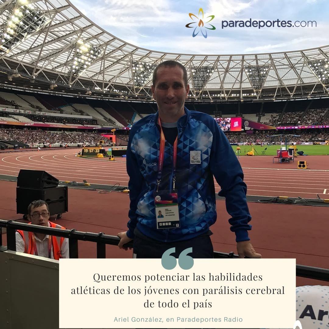 """Ariel González presentará """"Dis – capacidad"""", el libro sobre el atletismo para personas con parálisis cerebral"""