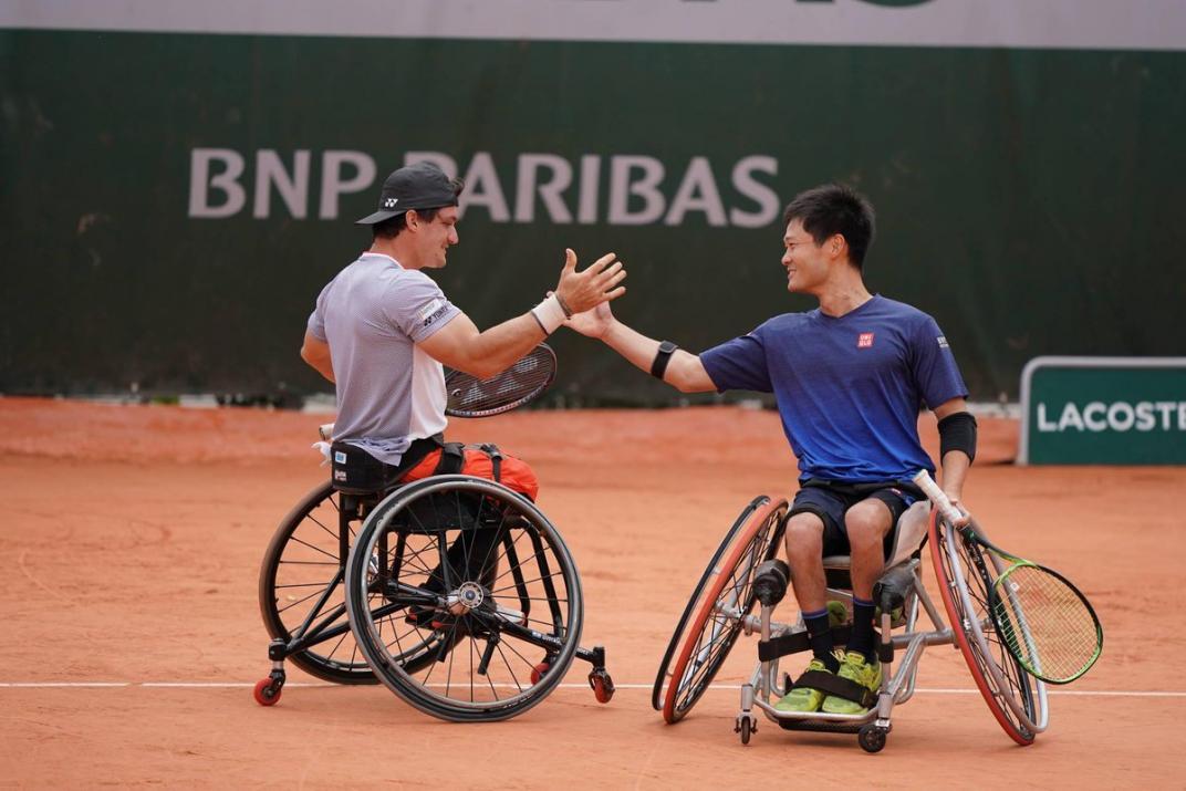 Gustavo Fernández, subcampeón de roland garros en dobles