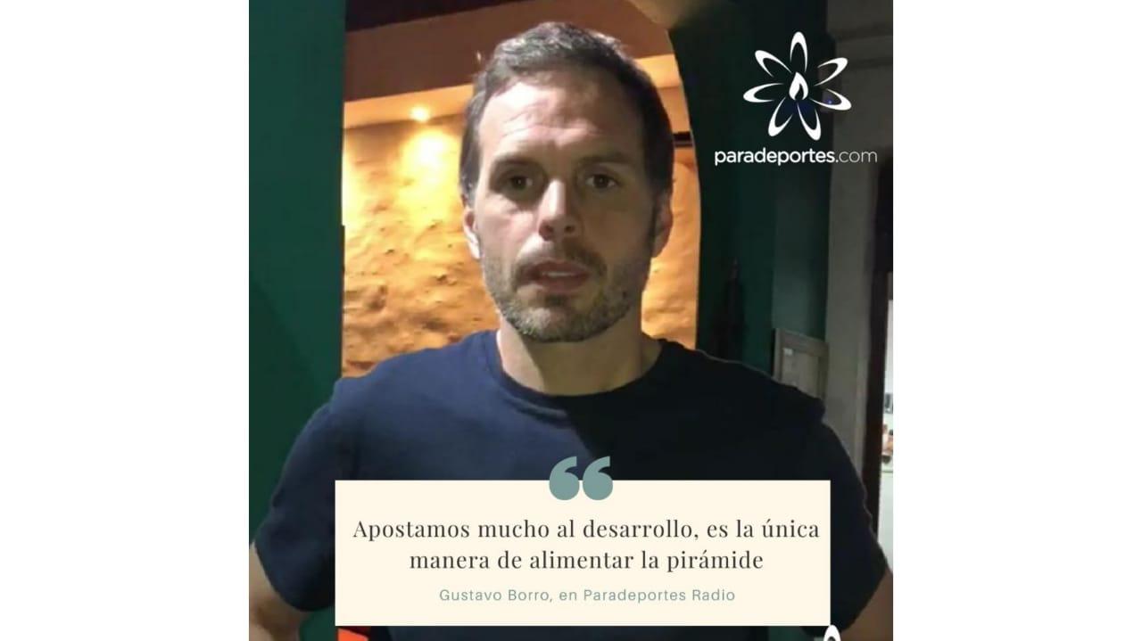 """Gustavo Borro, presidente de FADEPAC, en Paradeportes Radio: """"Apostamos mucho al desarrollo, es la única manera de alimentar la priámide"""""""