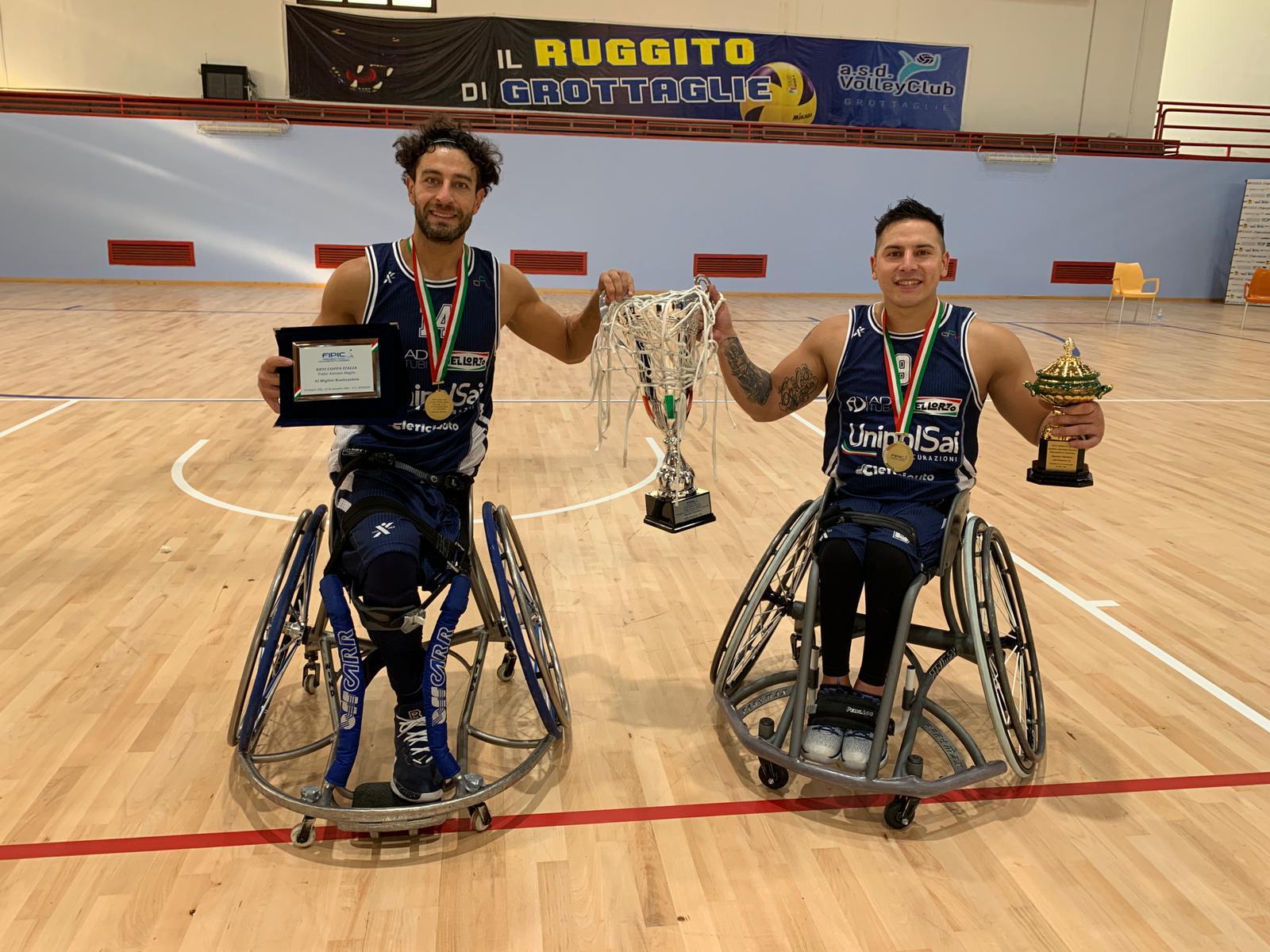Básquetbol sobre silla de ruedas: el Briantea84 de Berdún y Esteche gritó campeón