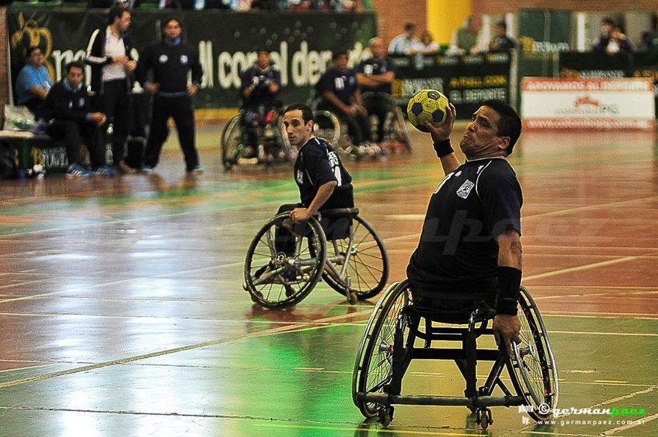 El handball sobre silla de ruedas llegó para quedarse