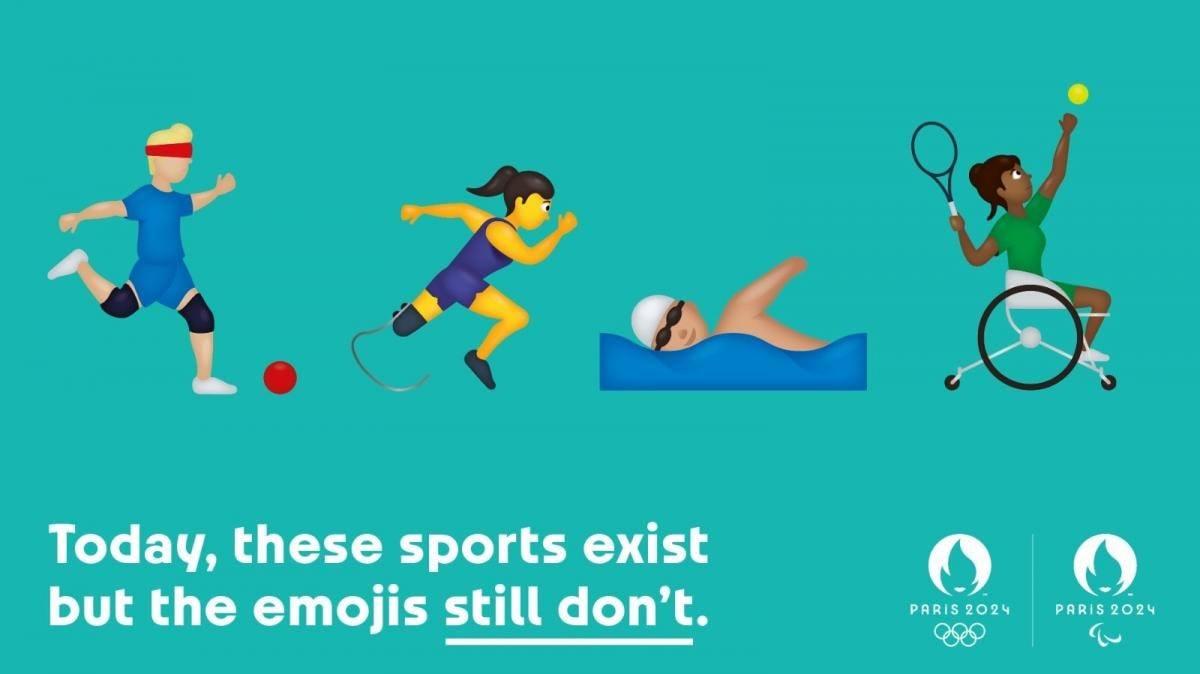 París 2024 y una propuesta innovadora: añadir emojis deportivos paralímpicos