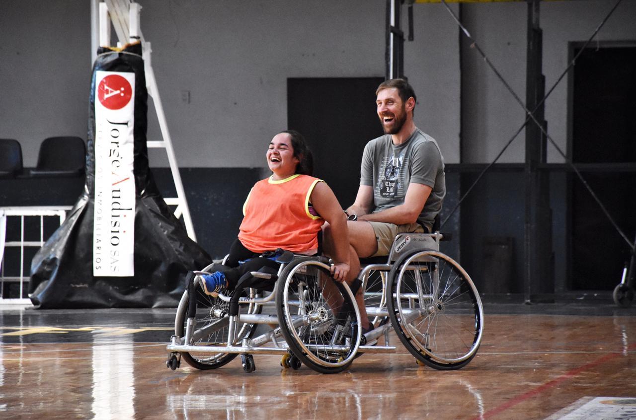 Nocioni y su experiencia con el básquet sobre silla de ruedas