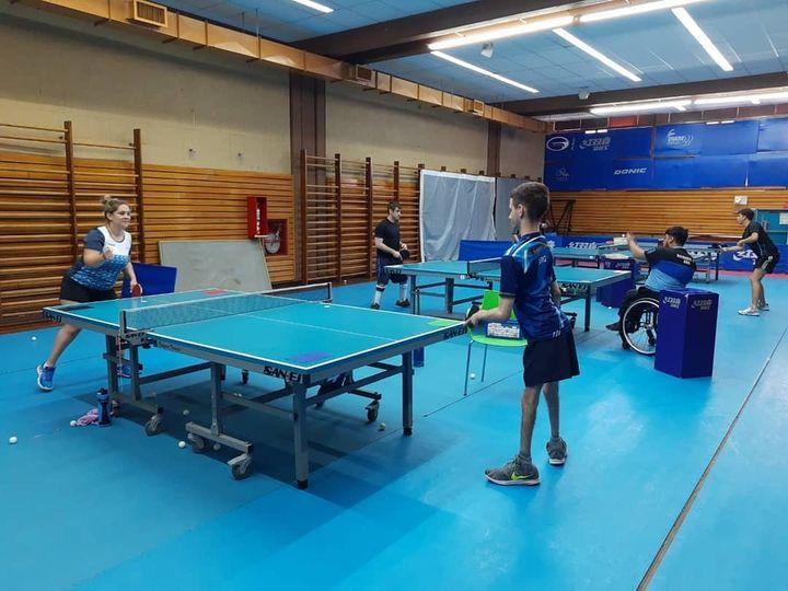 Tenis de mesa adaptado: la Selección Argentina se prepara en busca de conseguir más plazas para Tokio