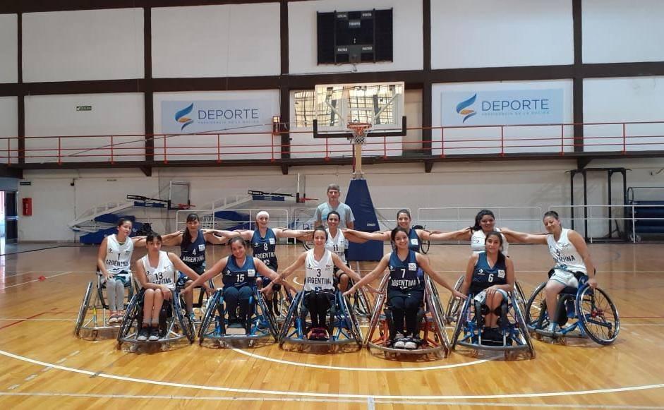Básquetbol en silla de ruedas: Las Lobas ponen primera