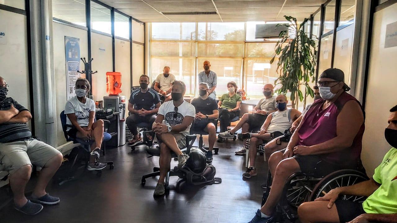 Reunión técnica con miras a Tokio para los entrenadores