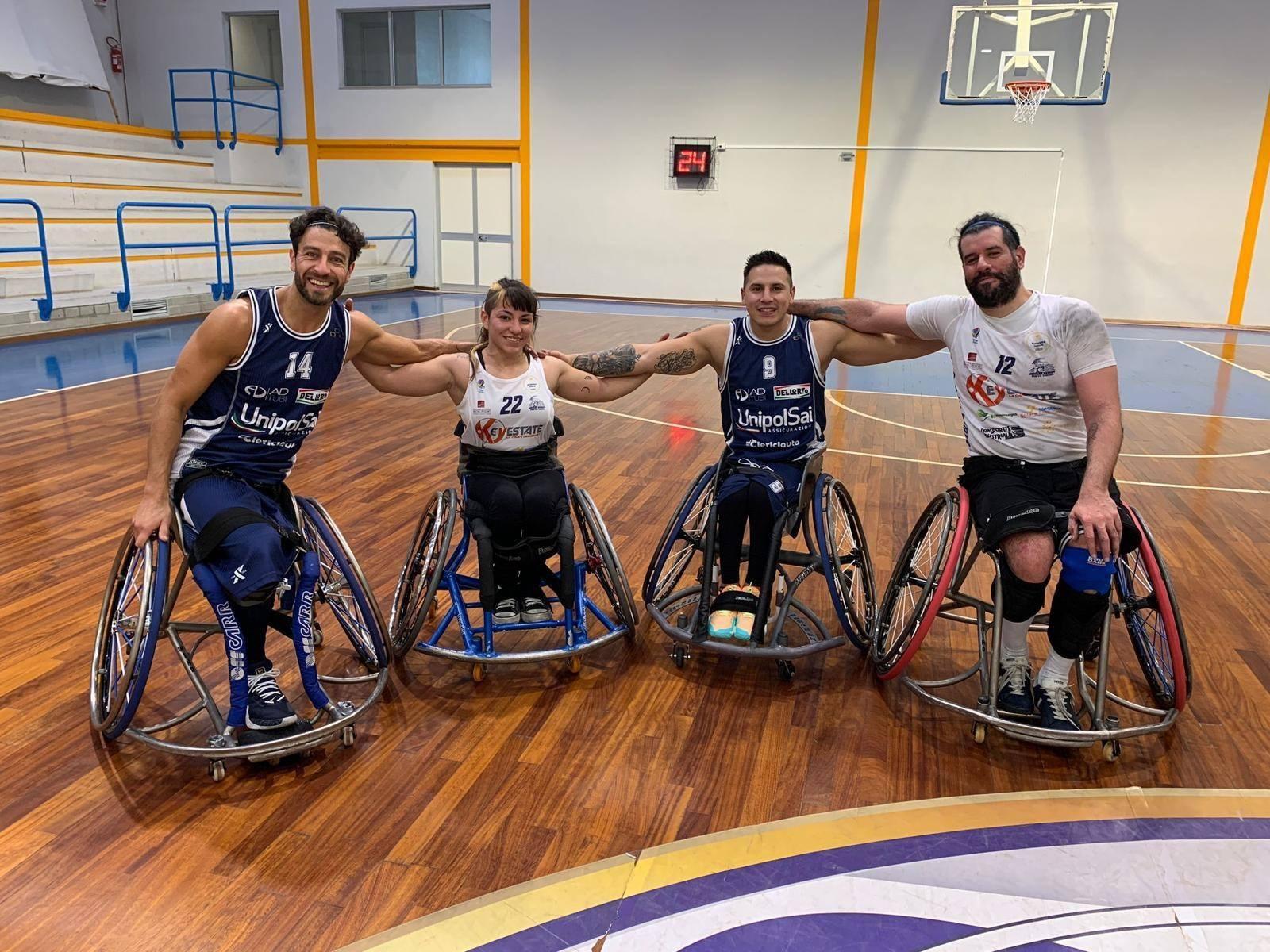 Básquet sobre silla de ruedas: el Briantea se quedó con el duelo de argentinos en la Liga Italiana