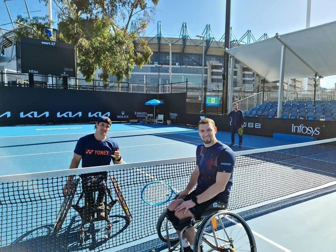 Tenis adaptado: Gustavo Fernández, subcampeón del Abierto de Melbourne