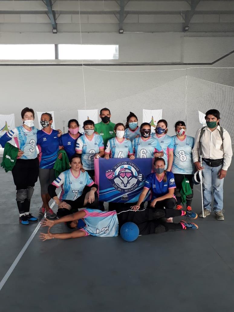 Goalball: Las Topas dejaron su huella en Neuquén