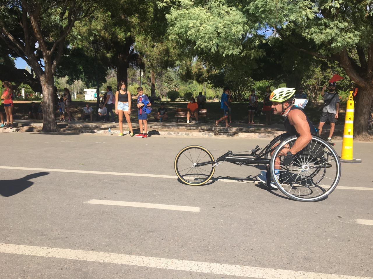 Paratriatlón: se realizó el 1° Campeonato Nacional en Mendoza