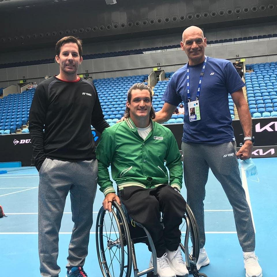 Tenis adaptado: Gustavo Fernández, representante argentino en el Abierto de Australia