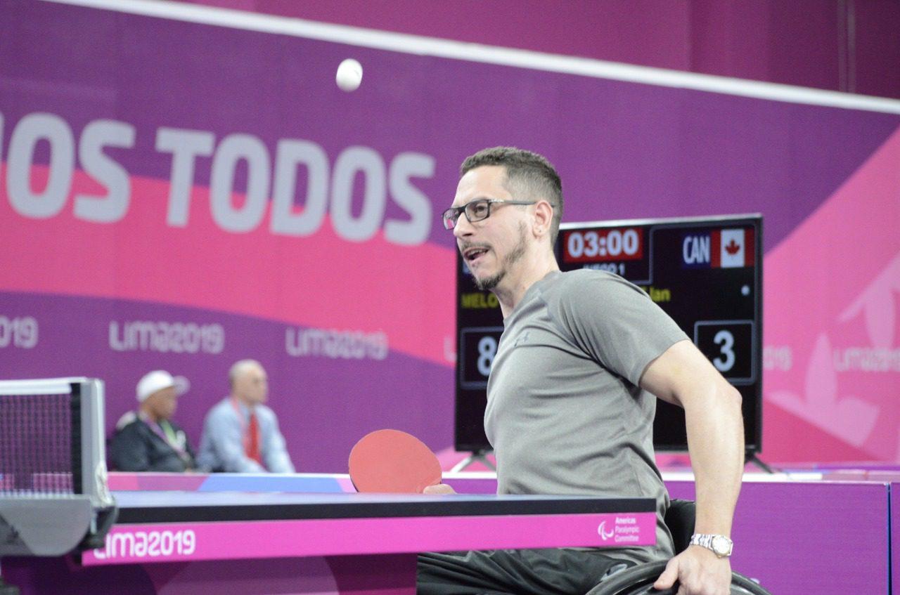 Tenis de mesa adaptado: con su lugar asegurado, Mauro Depérgola se prepara para Tokio