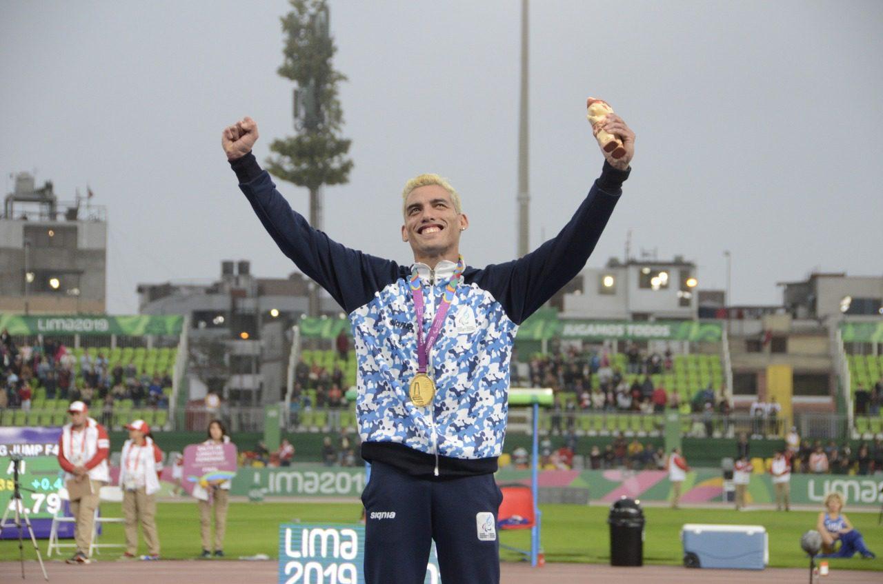 Atletismo paralímpico: Hernán Barreto trabaja en Lobería de cara a Tokio