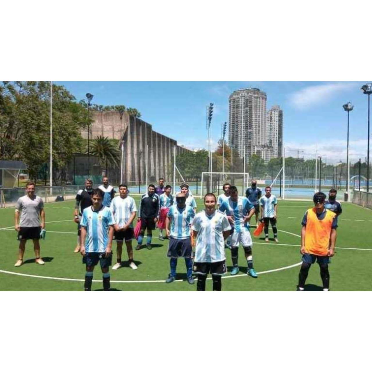 Fútbol para ciegos: Los Murciélagos comienzan los entrenamientos y piensan en Tokio