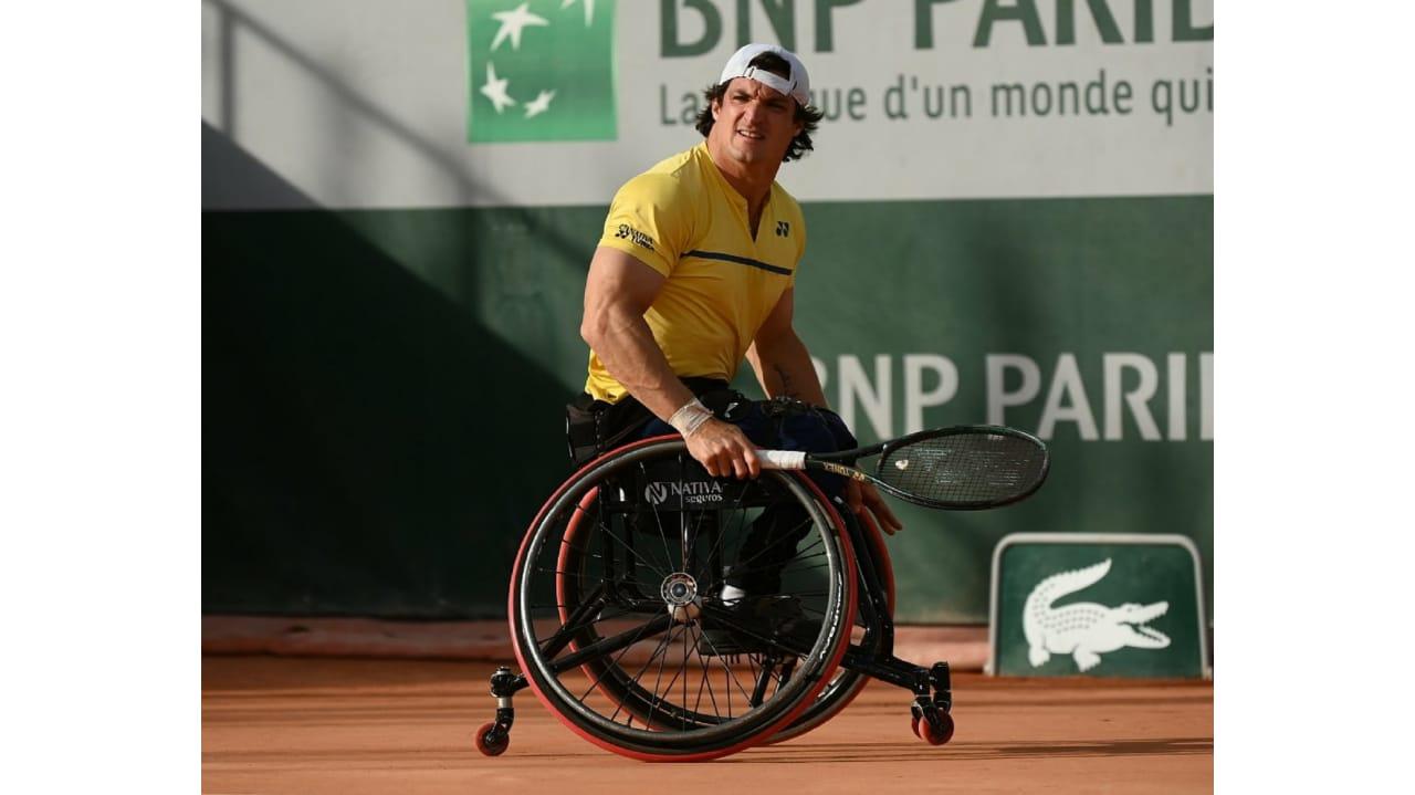 Tenis adaptado: Gustavo Fernández y una derrota en su debut en la temporada