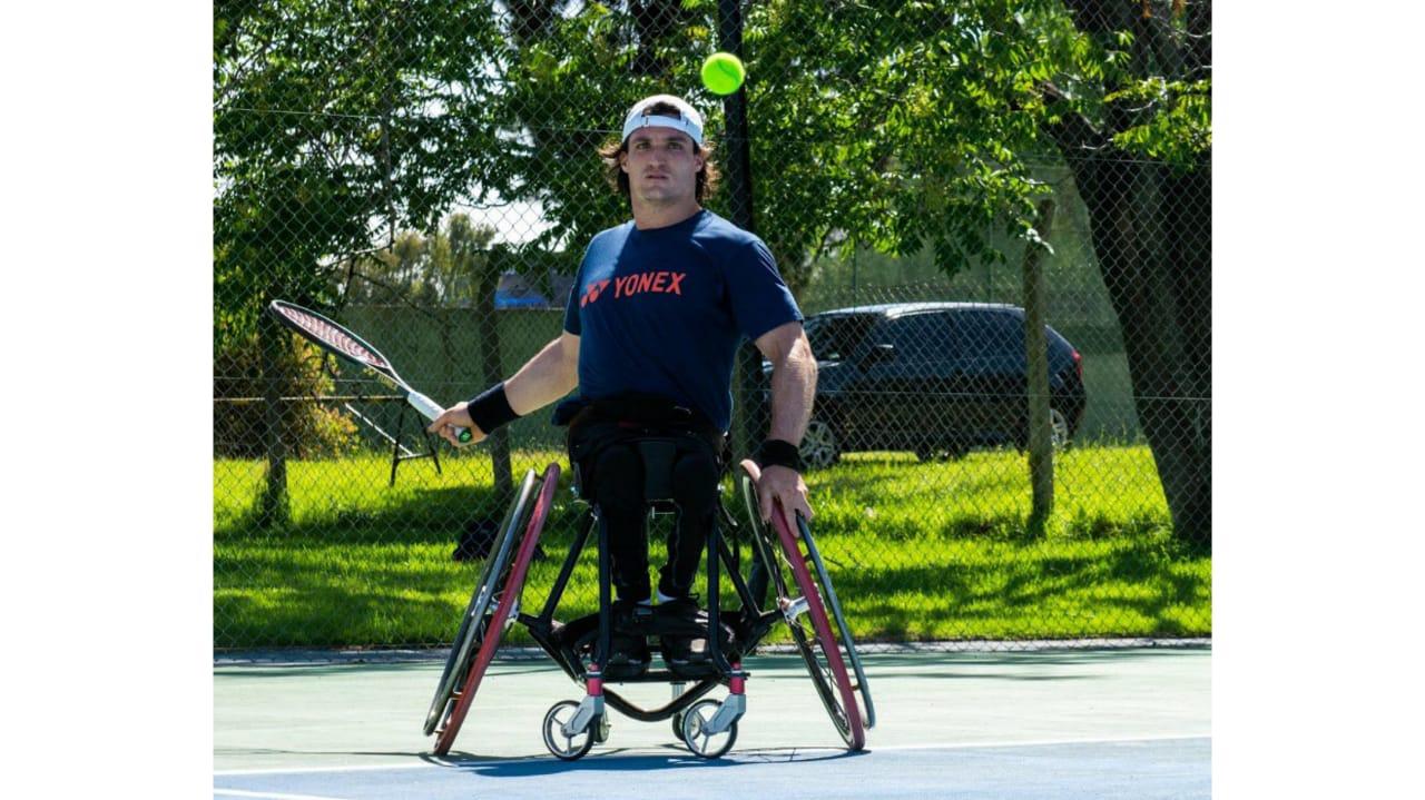 Tenis adaptado: Gustavo Fernández, finalista del Abierto de Melbourne