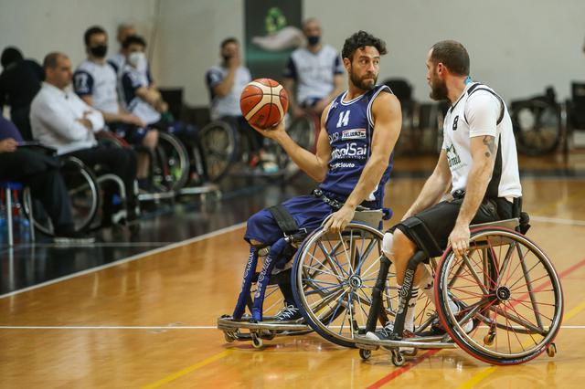 Básquet sobre silla de ruedas: Briantea84, líder con puntaje ideal