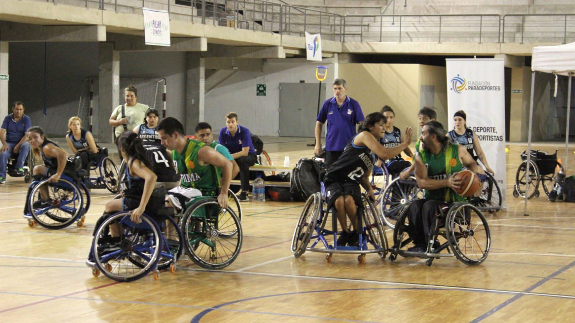 Básquet sobre silla de ruedas: se viene el primer torneo 3×3