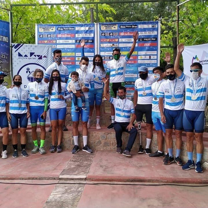 Paraciclismo: podios para la Selección en La Rioja como previa de la gira internacional