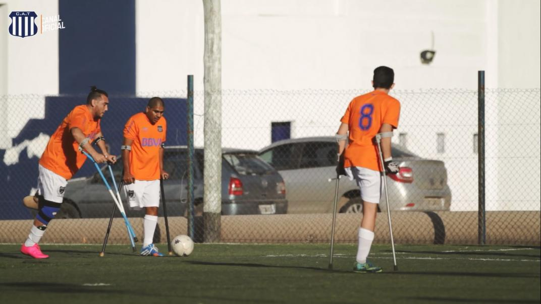 Fútbol para amputados: todo listo para el comienzo de la Liga Nacional