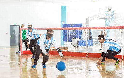 Goalball: Los Topos regresaron a los entrenamientos