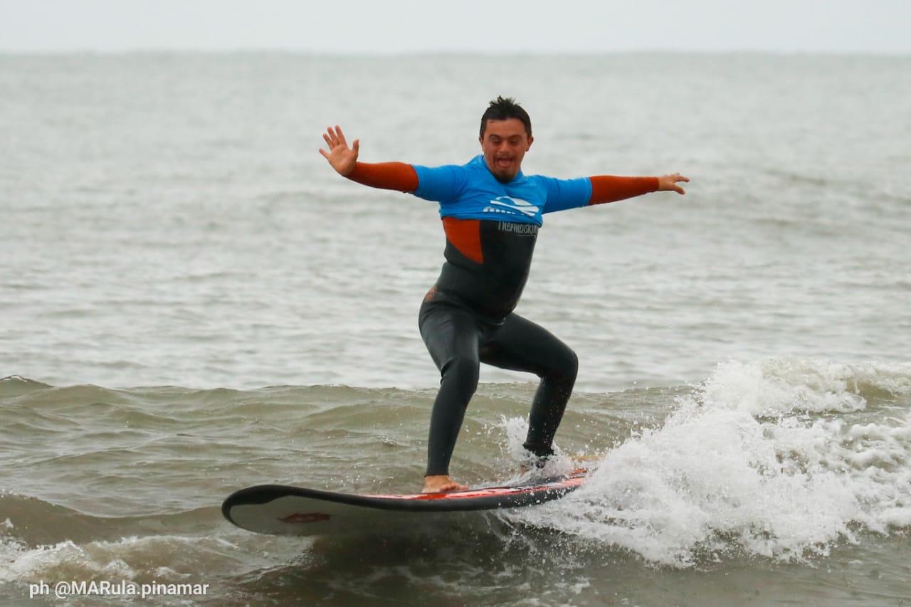 Surf adaptado: el Campeonato Nacional puso primera en Cariló
