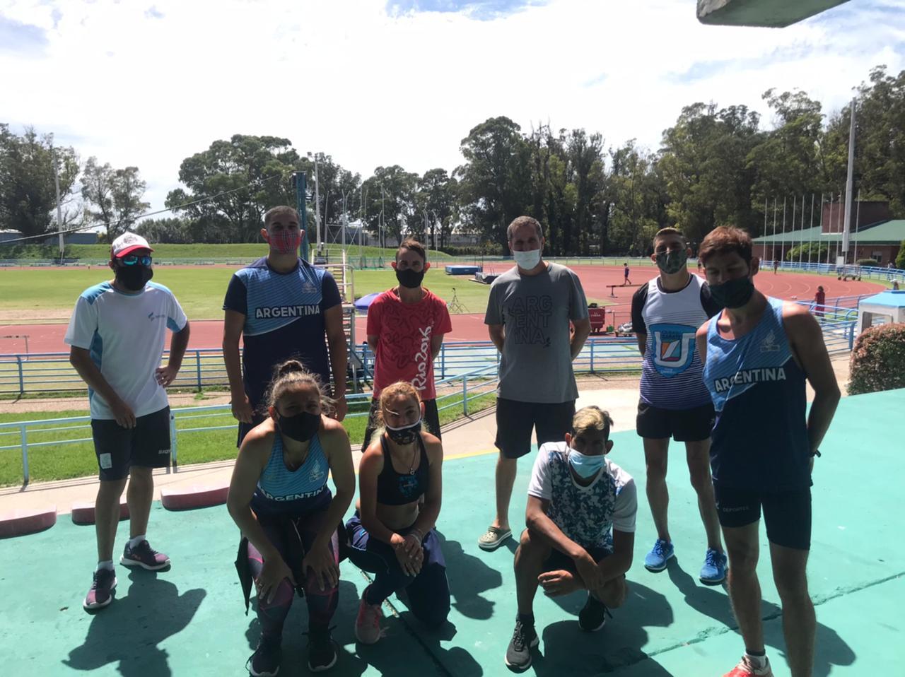 Atletismo paralímpico: los atletas de FADEPAC, encabezados por Barreto, sumaron importantes registros en distintos puntos del país