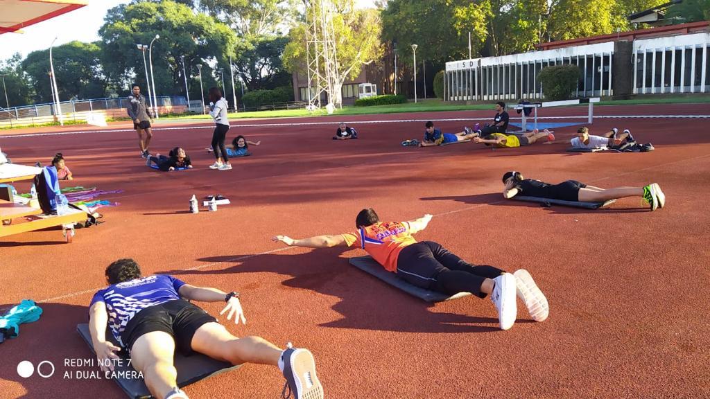 La Selección de atletismo de FADDIM se concentró en el CeNARD