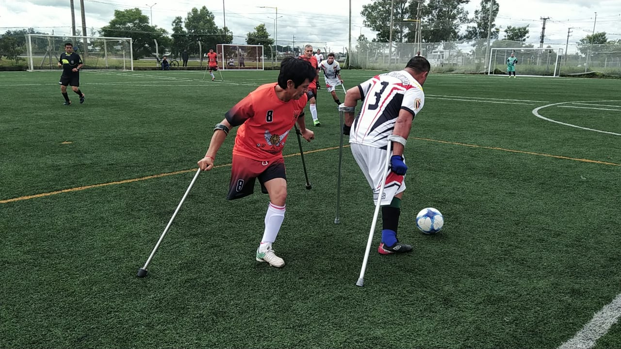 Fútbol de amputados: Real Voluntad de Mar del Plata, el granador de la primera fecha