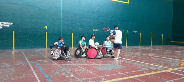 Rugby adaptado: la Selección trabajó en Buenos Aires