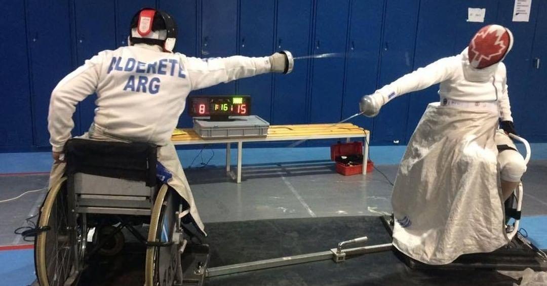 Esgrima paralímpica: Hugo Alderete, a la espera de una invitación para los Juegos Paralímpicos