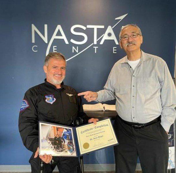 Jean Maggi se recibió de astronauta civil y ahora va un nuevo desafío: viajar al espacio