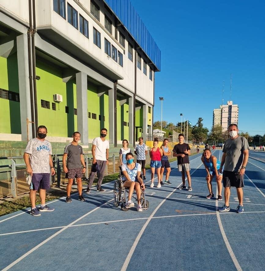 Atletismo paralímpico: la Selección de FADEPAC pisó fuerte en Entre Ríos