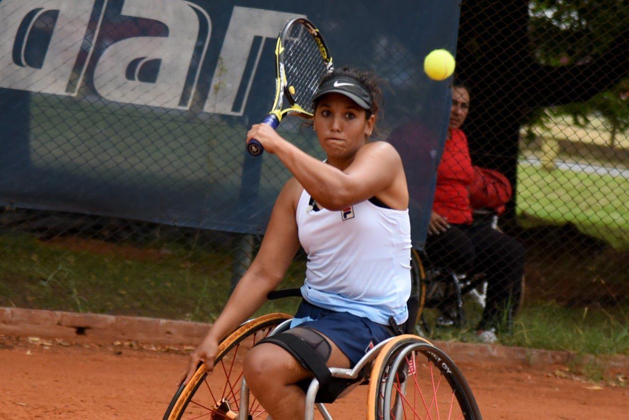 Tenis adaptado: Florencia Moreno, finalista en Turquía